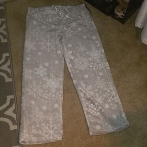 🐧NEW Soft VelvetFeltWinter Wonderland Pajama Pant